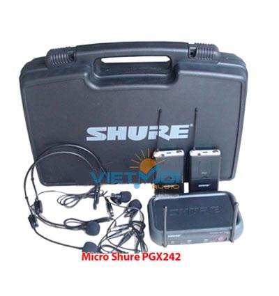 Micro không dây cài áo Shure PGX242