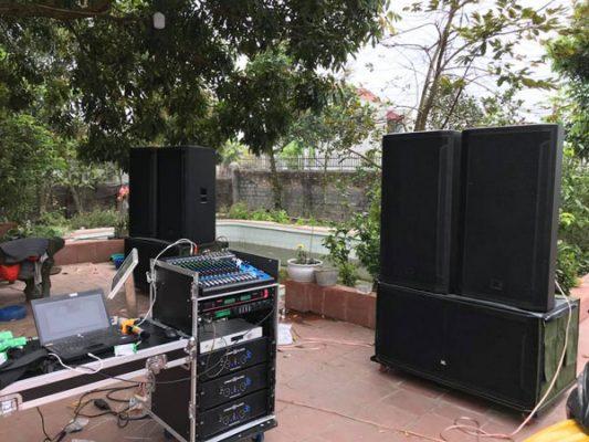 âm thanh cho đám cưới