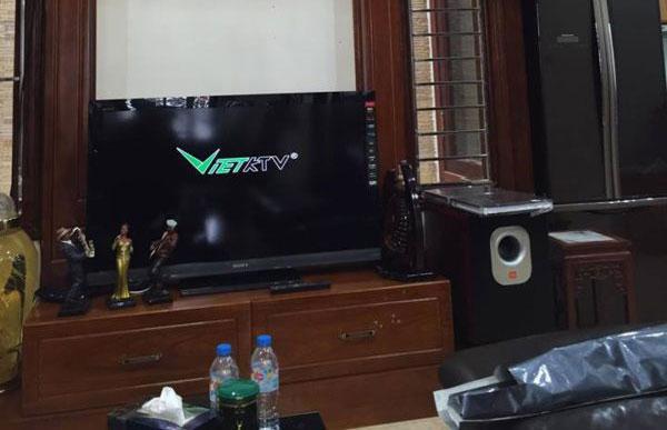 Dự án lắp đặt hệ thống âm thanh karaoke gia đình anh Hùng – Láng Hạ
