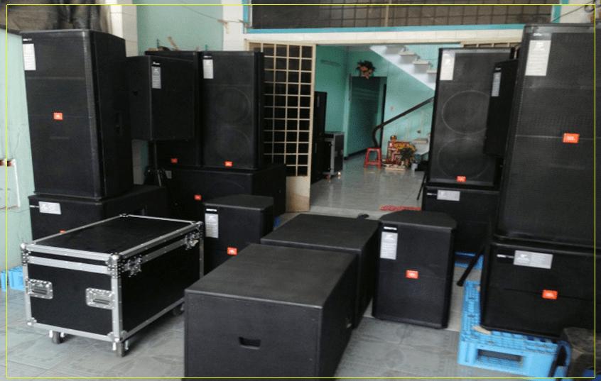 dự án âm thanh cho phòng hội trường huyện ủy Nậm Pổ