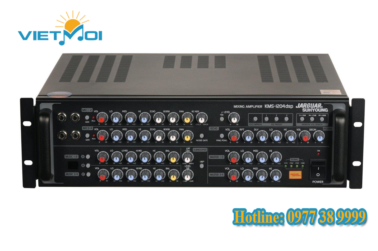Amply Jarguar KMS-1204 DSP