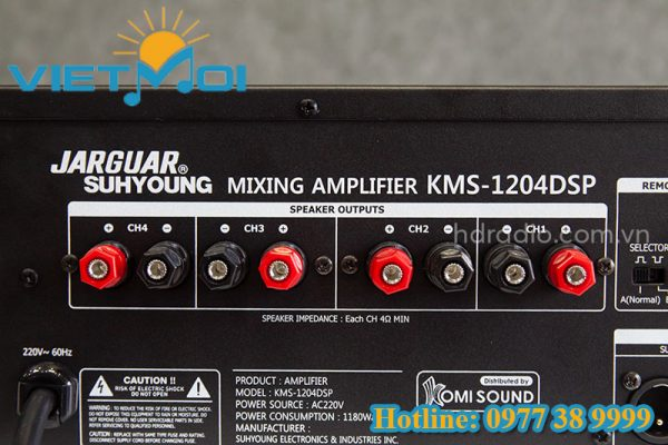 Amply Jarguar KMS 1204 DSP