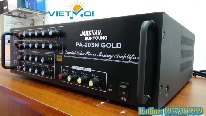 Amply Jarguar PA 203 GoLd -BT
