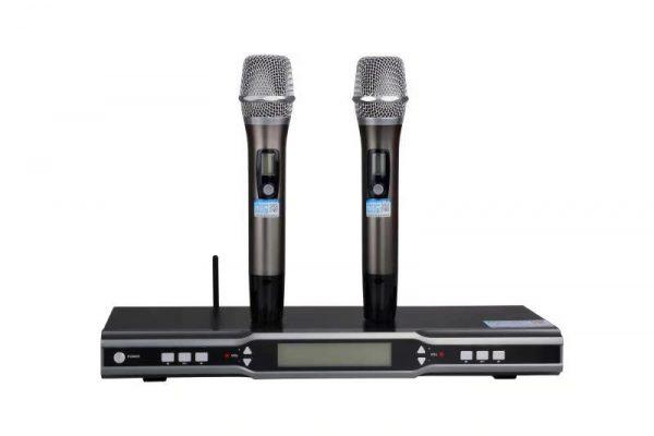 Micro karaoke không dây chuyên nghiệp
