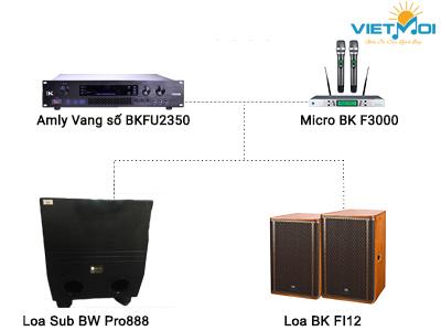 Dàn karaoke gia đình VM-GD014