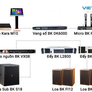 Dàn karaoke kinh doanh VM-KD06