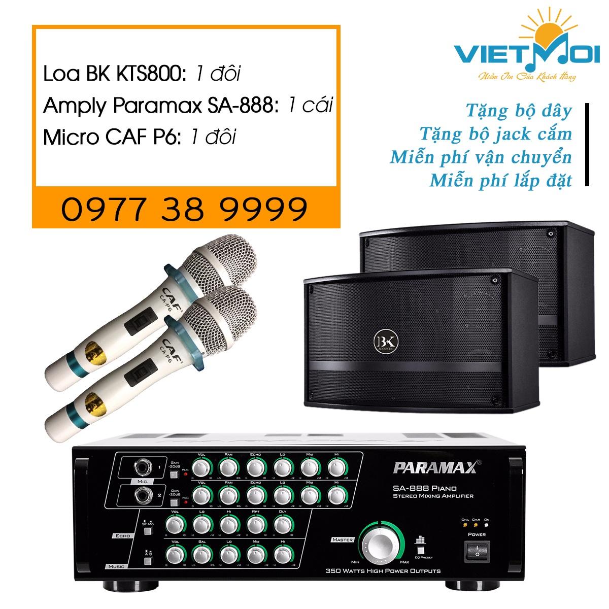 Dàn karaoke gia đình VM-GD016