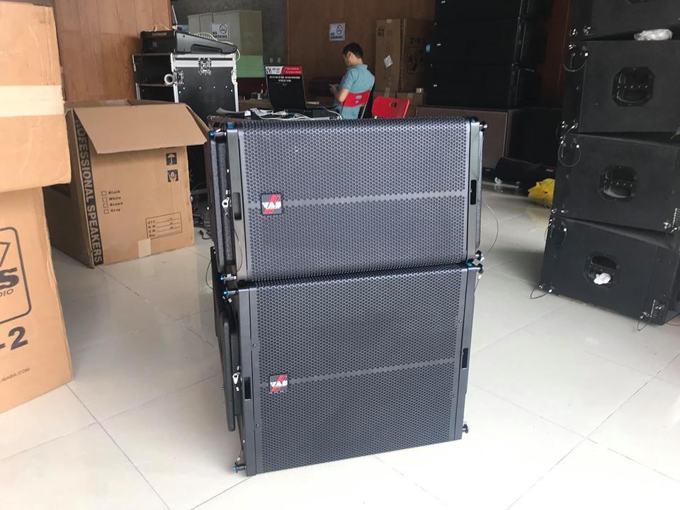 Việt Mới Audio là đơn vị cung cấp loa line array độc quyền trên toàn quốc