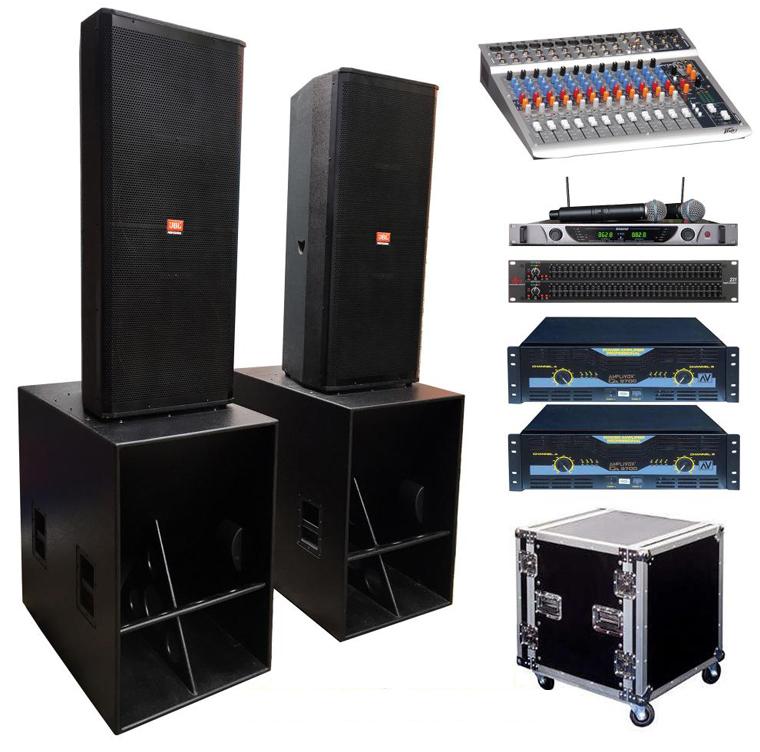 Dàn âm thanh sân khấu chuyên nghiệp phải có những thiết bị nào?