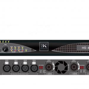 Cục đẩy công suất 4 kênh BK HS4220 chất xúc tác cho dàn âm thanh