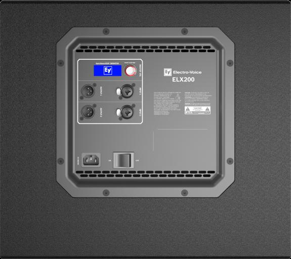 Chi tiết thông số của loa sub Ev ELX200-12SP