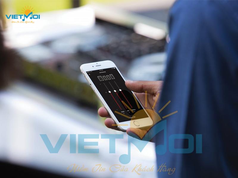 Ứng dụng công nghệ Bluetooth® Low Energy, điều khiên qua Moblie