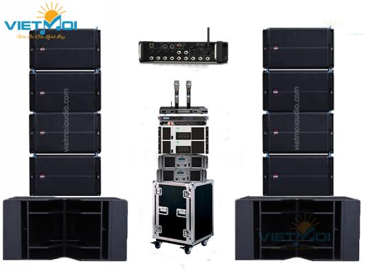 Sub hầm VAS dùng trong các dàn âm thanh đám cưới, hội trường, sự kiện thay thế cho các loại sub đơn, sub kép