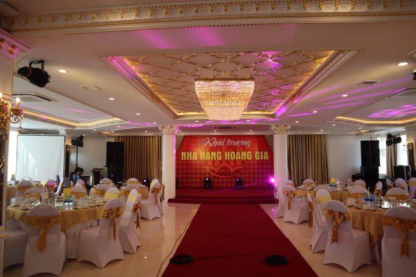 Dàn âm thanh ánh sáng nhà hàng tiệc cưới tại Hưng Yên
