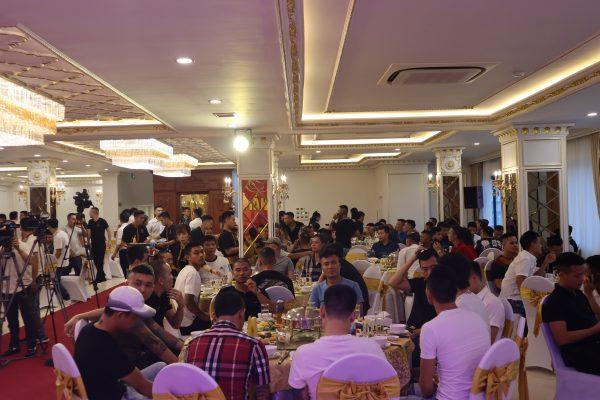 Dàn âm thanh ánh sáng nhà hàng tiệc cưới rộng gần 400m2