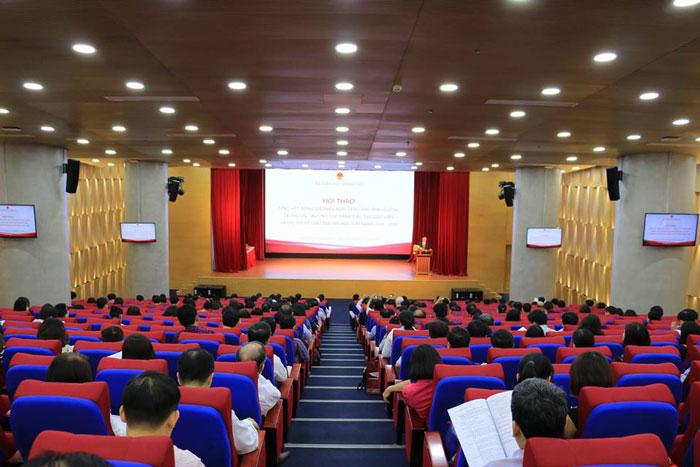 Công trình lắp đặt âm thanh hội trường của Việt Mới Audio