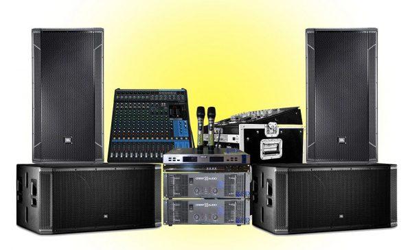 bảo quản thiết bị âm thanh cẩn thận