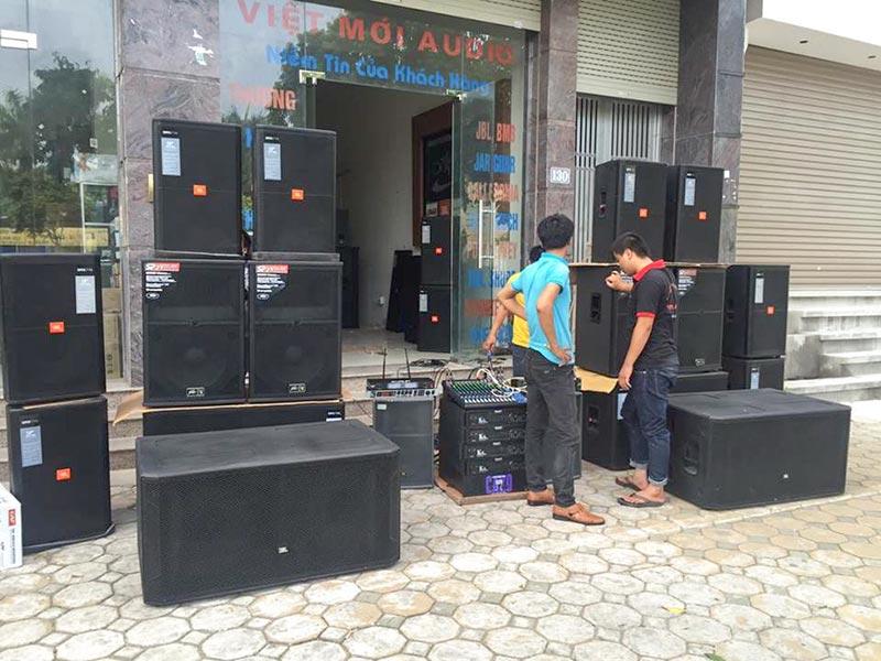 Loa đám cưới công suất lớn – những lưu ý khi chọn mua | Việt Mới Audio