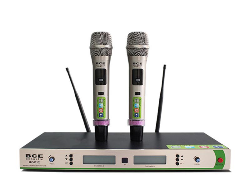 Micro karaoke không dây chuyên nghiệp, chất lượng tốt nhất
