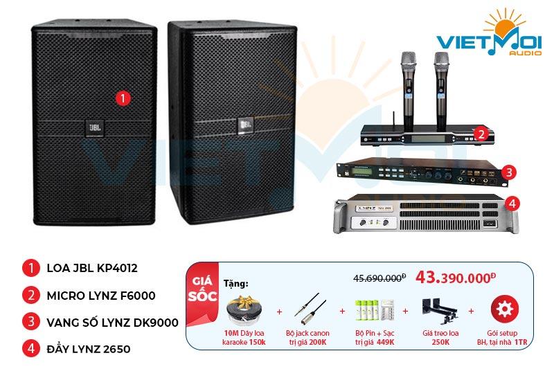 Dàn karaoke gia đình VM-GD534