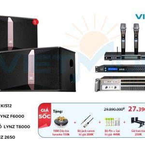 Bộ dàn karaoke VM-37GD | Bộ xử lý tín hiệu âm thanh tuyệt vời