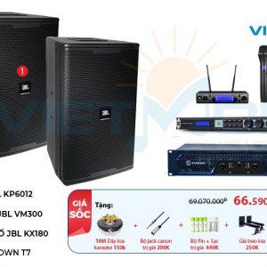 Dàn karaoke gia đình hay nhất JBL VM-GD601