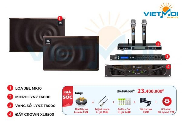 Dàn karaoke gia đình VM-GD538