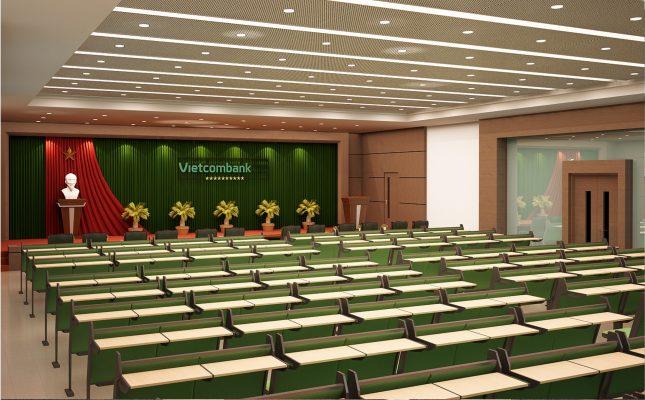 Dự án âm thanh sân khấu, hội họp tại Vietcombank vietmoiaudio