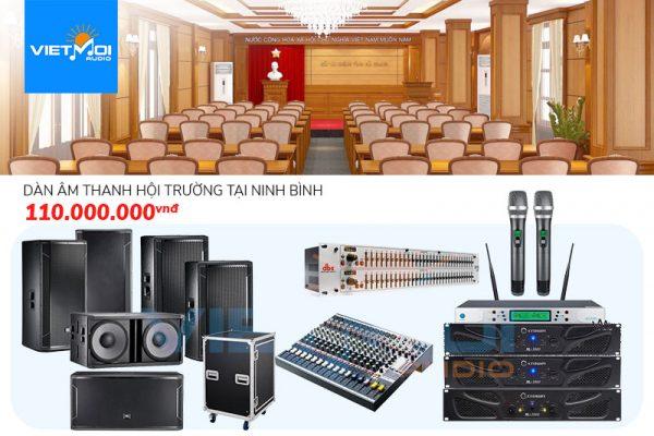 Dàn âm thanh hội trường tại Ninh Bình