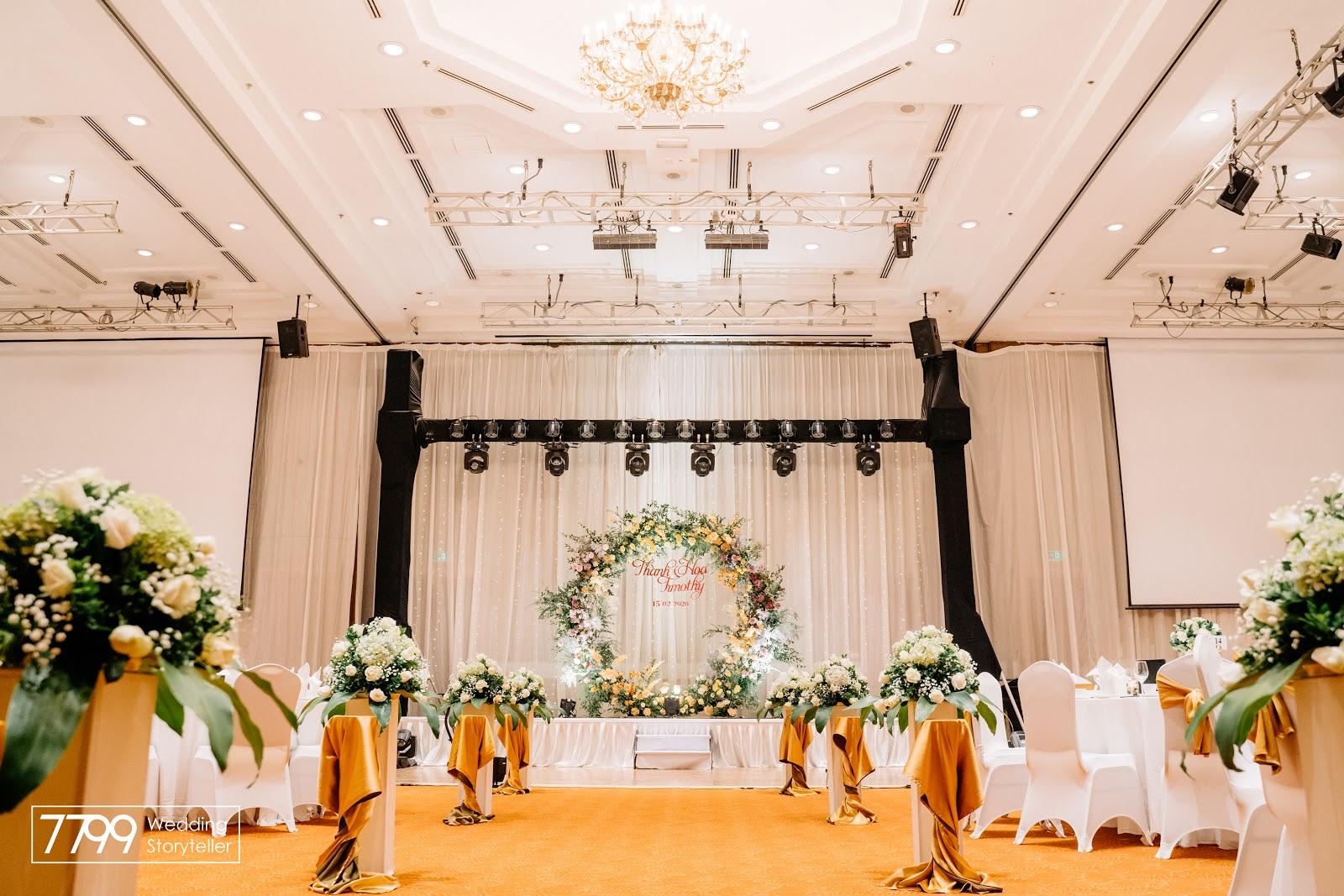 Cách chỉnh dàn âm thanh cho đám cưới đơn giản mà vẫn chuyên nghiệp
