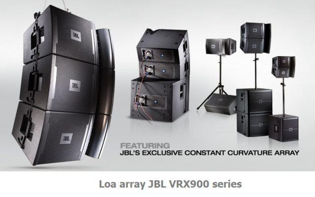 Dòng loa line array JBL đến từ Mỹ