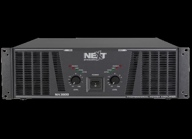 Cục đẩy công suất 2 kênh NEXT-PROAUDIO MA3800