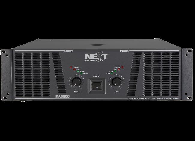 Cục đẩy công suất 2 kênh NEXT-PROAUDIO MA6000