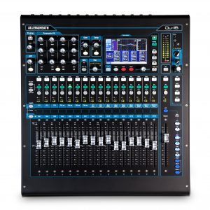 Mixer kỹ thuật số Allen & Heath QU-16