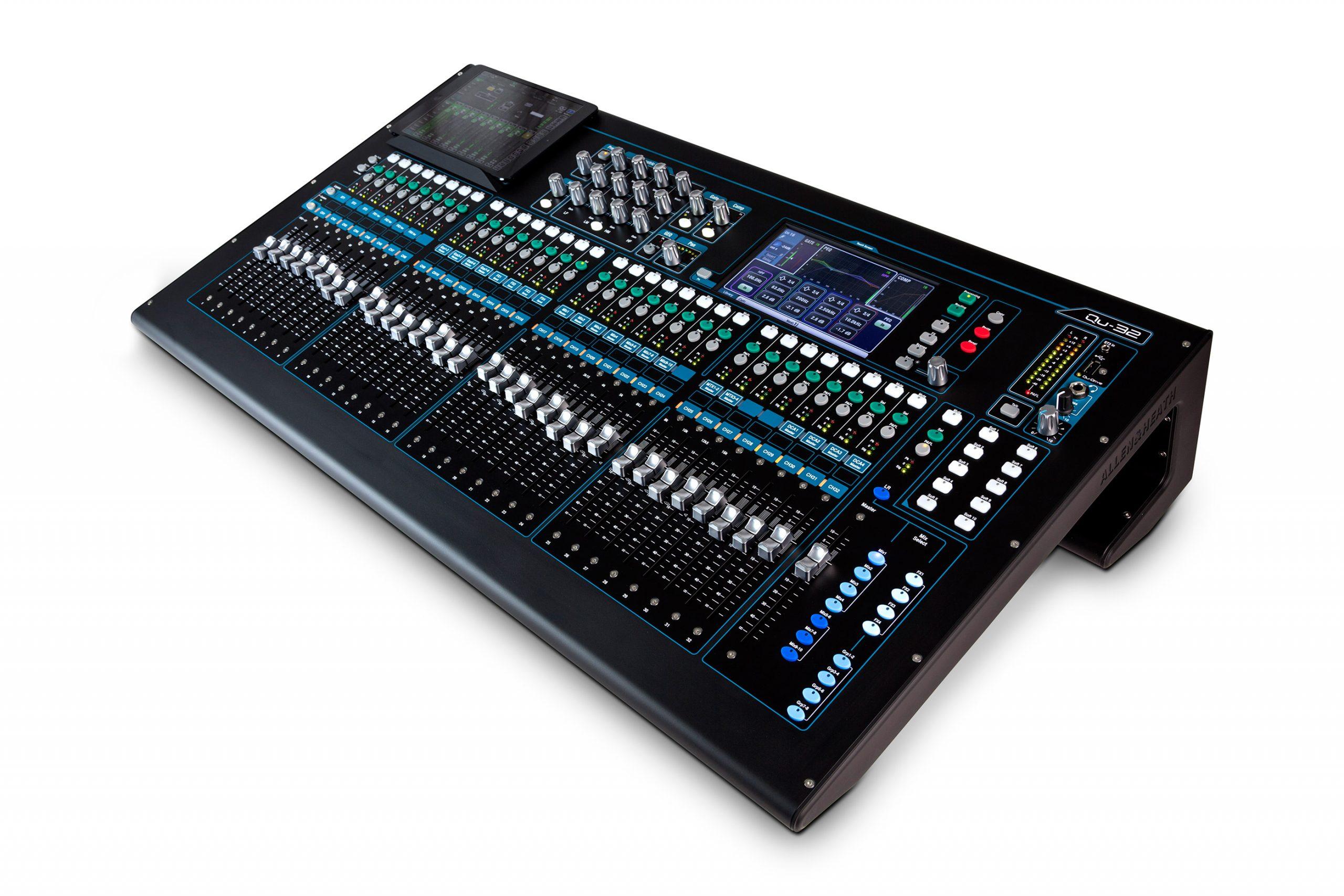 Bàn mixer Digital Allen & Heath QU-32
