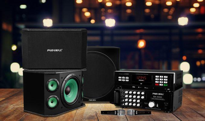 bộ dàn âm thanh karaoke paramax
