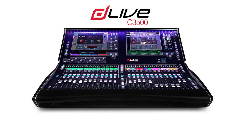 Mixer kỹ thuật số Digital Allen & Heath dLive C3500