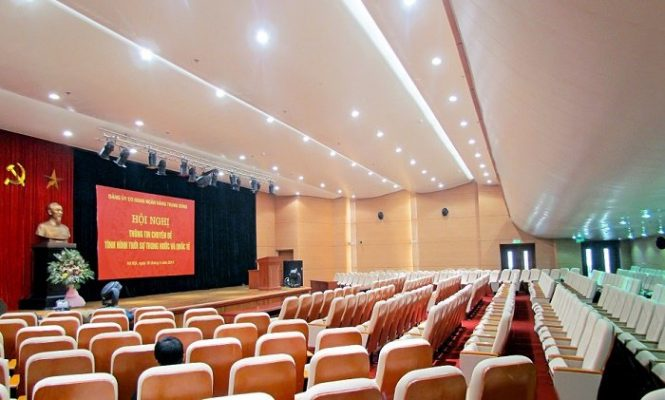 Dàn âm thanh hội trường tại Quảng Ninh