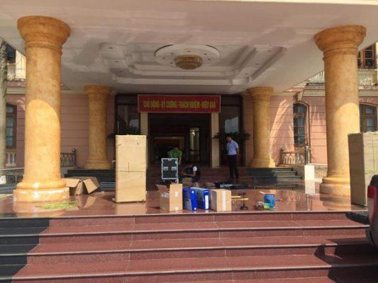 Dự án âm thanh tại quận Bình Thạnh