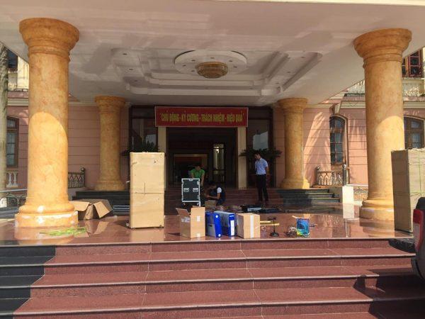 Việt Mới Audio lắp đặt thành công dàn âm thanh cho hội trường tại TpHCM
