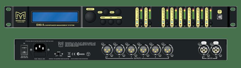 Thiết bị quản lý tín hiệu DSP Martin Audio DX0.5
