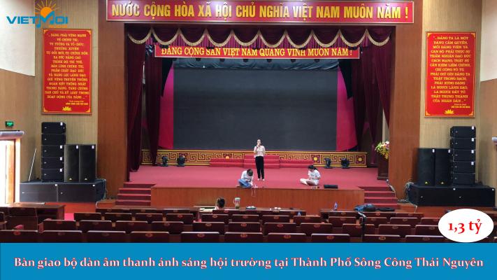 Dàn âm thanh hội trường tại Thái Nguyên