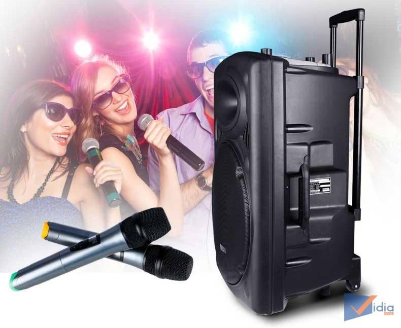 Loa karaoke bluetooth giá rẻ đồng hành cùng những chuyến đi