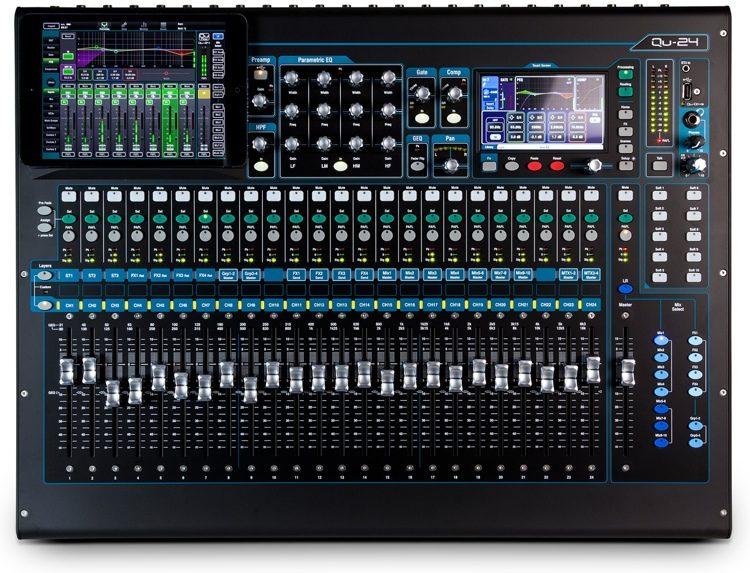 Bàn mixer Digital Allen & Heath QU – 24