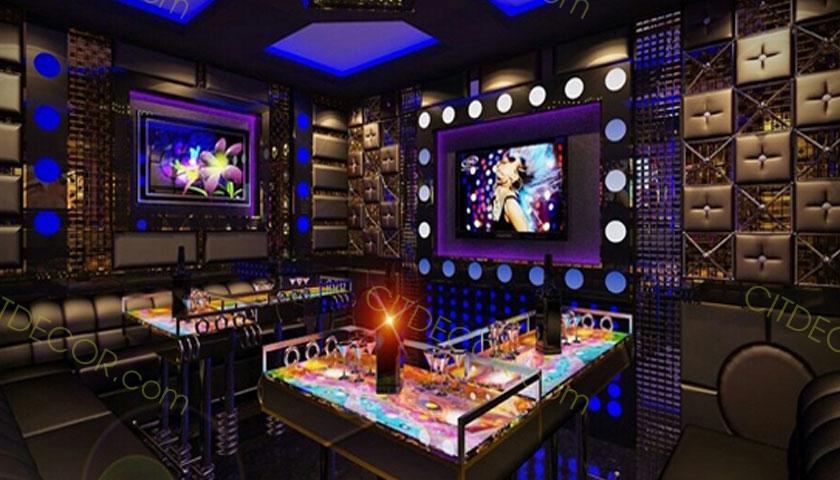 Dự án lắp đặt âm thanh quán karaoke cho phòng hát tại Q1
