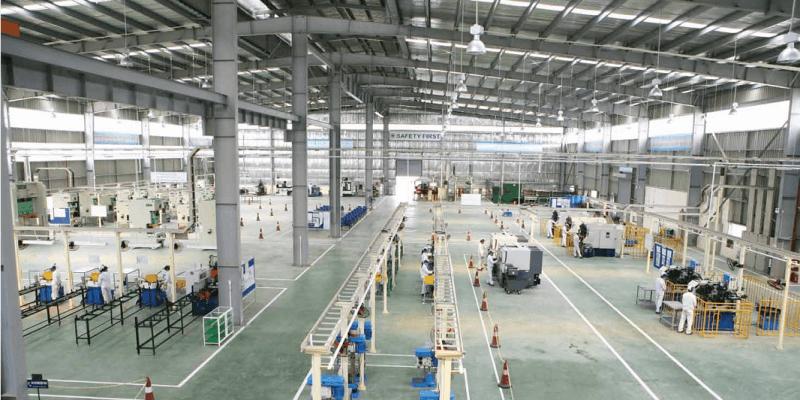 Dự án lắp đặt hệ thống âm thanh thông báo nhà xưởng ở KCN Long An