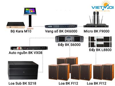 Dàn karaoke kinh doanh VM KD 09
