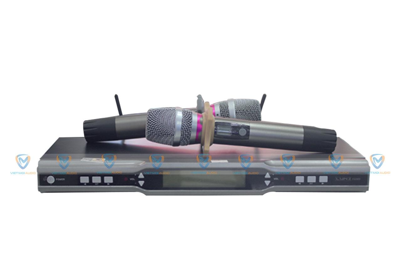 Tận hưởng dòng suối âm thanh trong trẻo với micro không dây LYNZ F6000