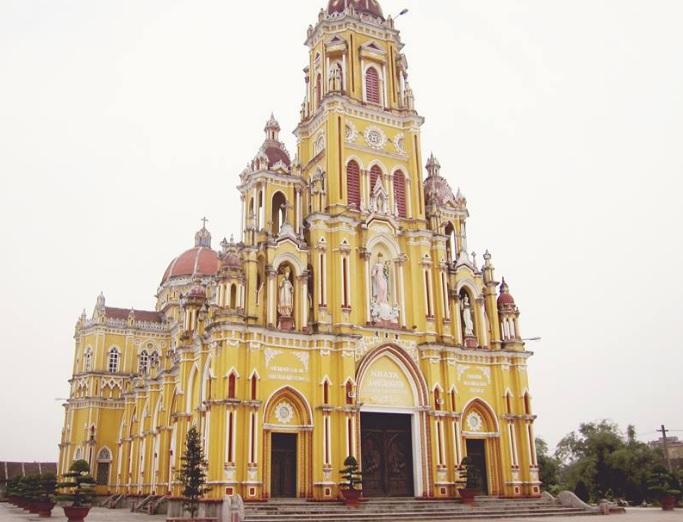 Dự án lắp đặt hệ thống âm thanh nhà thờ tại Nam Định