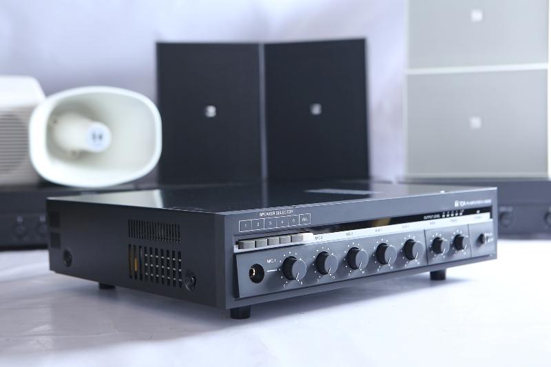 Amply TOA mang đến chất lượng âm thanh tuyệt vời cho dàn âm thanh